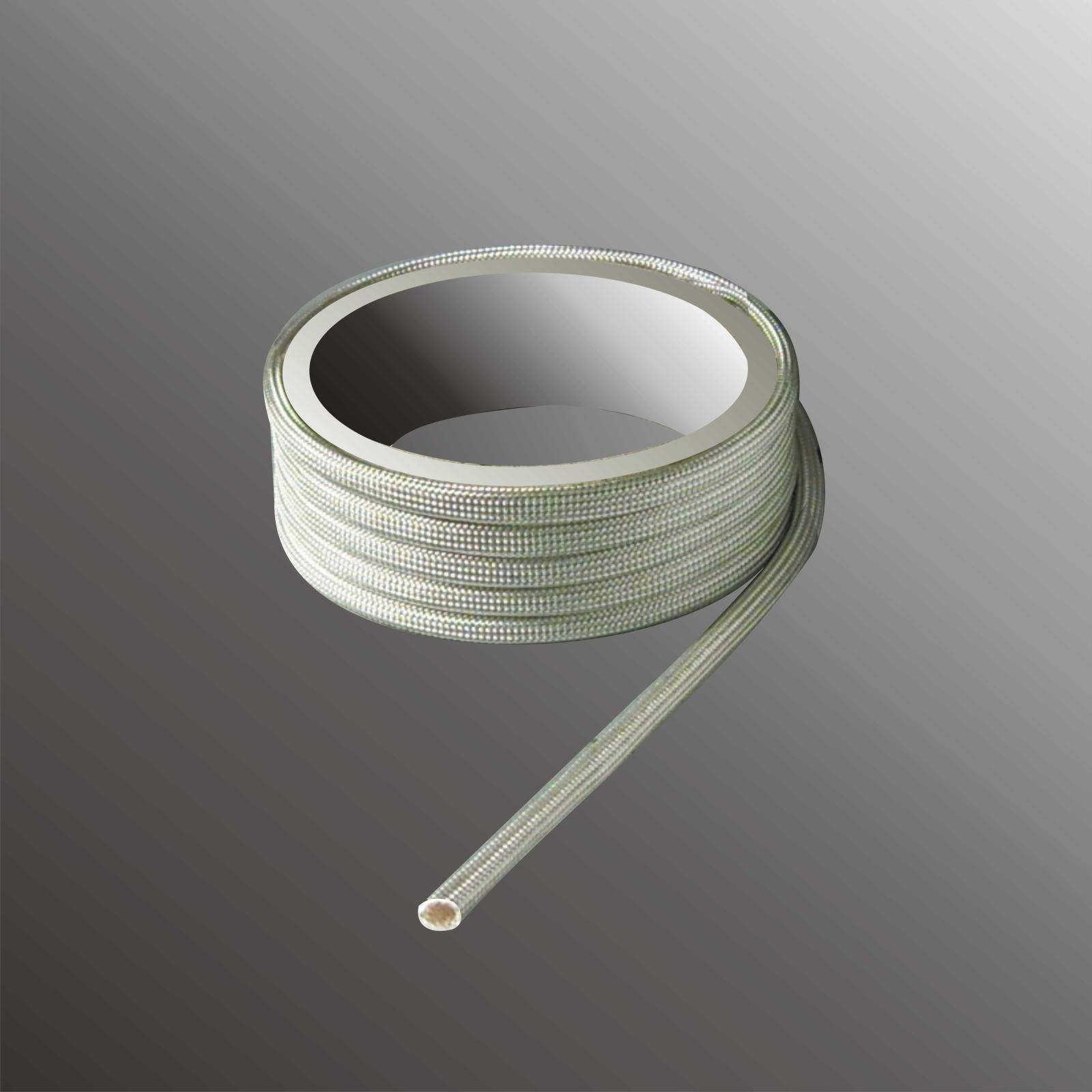 Glasfaser Schlauch Glasseide Isolierschlauch 450° Ø 0,5 - 20mm ...